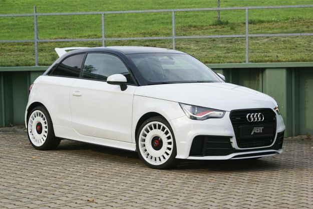 Audi A1 Quattro by ABT-frontale