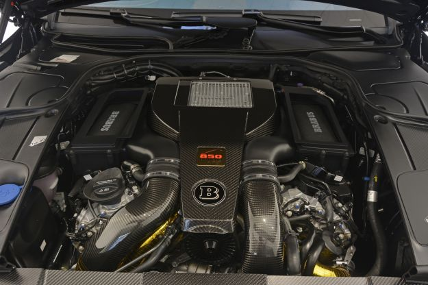 Brabus 850 6.0 Biturbo Coupé motore