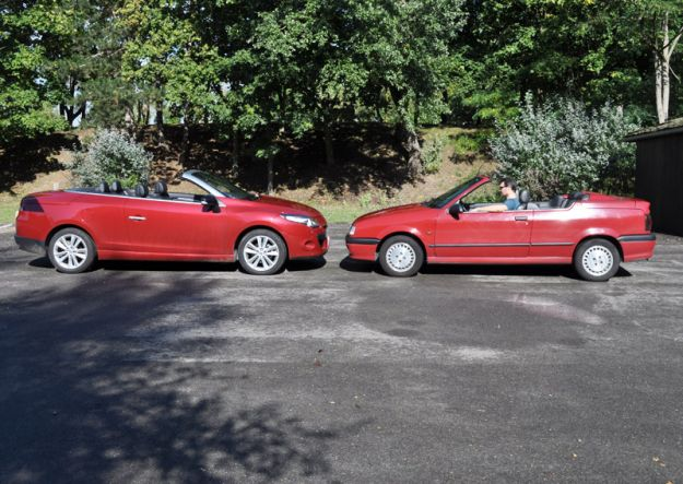 04675642 photo renault 19 cabriolet 1993 vs renault megane cc 2010
