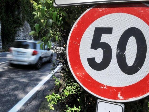 Limite di velocità 50