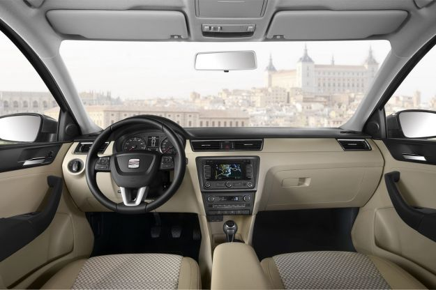 2013 Seat Toledo Sedan-interni beige
