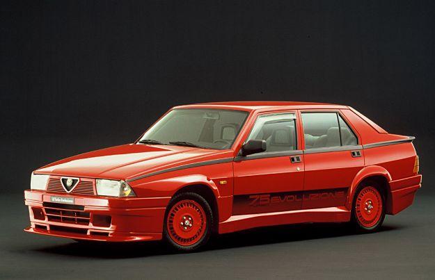 Alfa Romeo 75 Turbo Evoluzione frontale