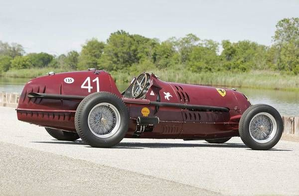 Alfa Romeo 8C 35 Nuvolari, valore