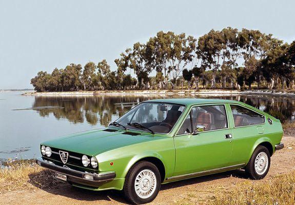 Alfa Romeo Alfasud Sprint verde