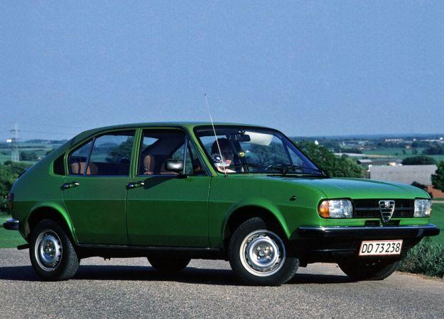 Alfa Romeo Alfasud Super verde