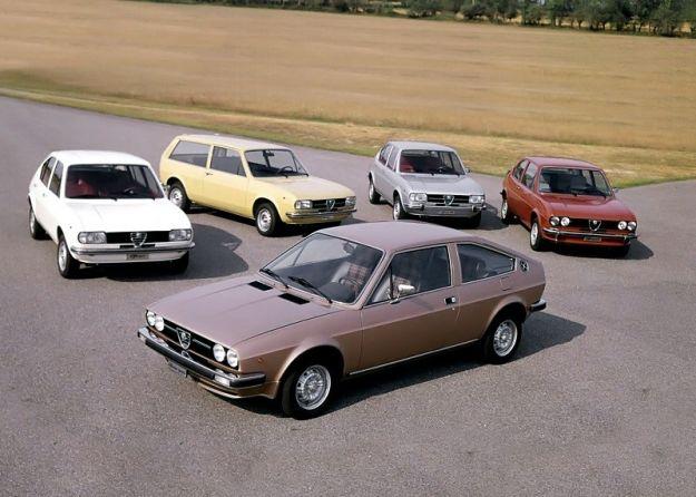 Alfa Romeo Alfasud la gamma
