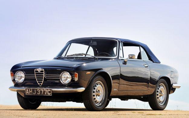 Alfa Romeo Giulia Sprint GT Cabriolet