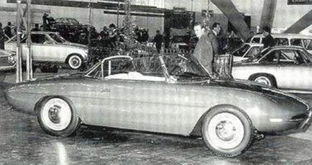 Alfa Romeo Giulietta SS Pininfarina Spider torino 1961