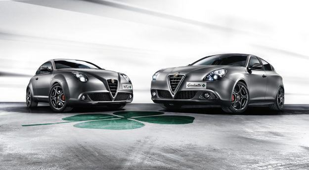 Alfa Romeo Giulietta e Mito Quadrifoglio Verde 2014