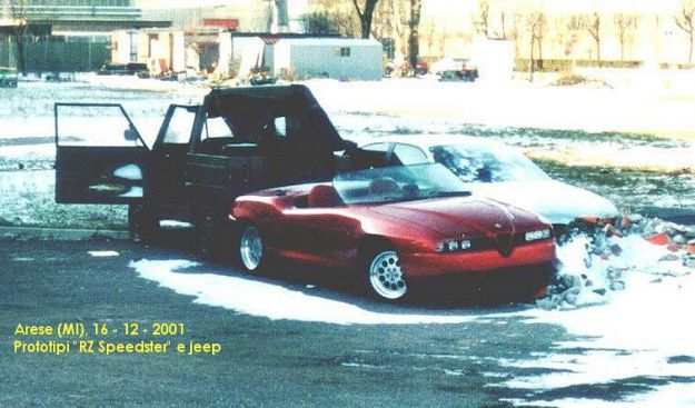 Alfa Romeo RZ Speedster