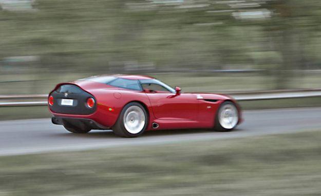 Alfa Romeo TZ3 Stradale posteriore