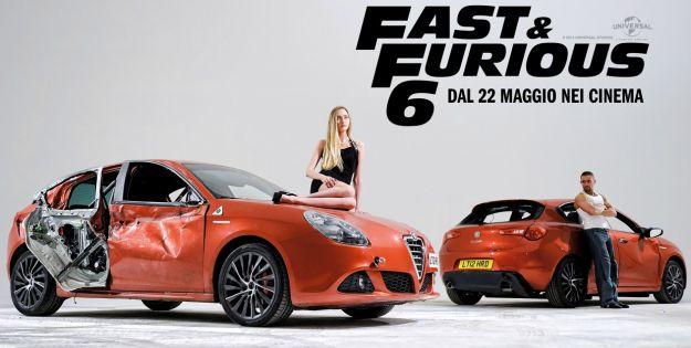 Alfa romeo giulietta fast & furious