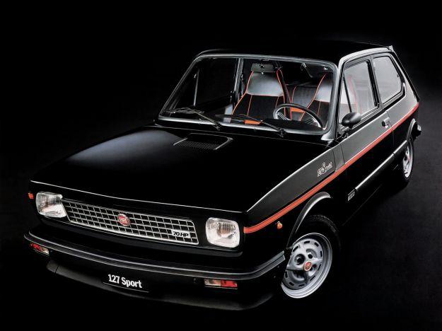 Anteriore della Fiat 127 Sport
