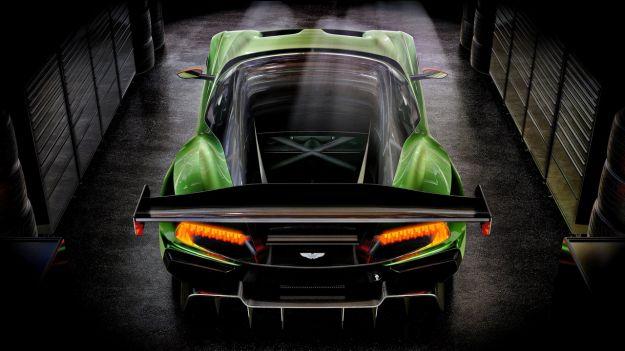Aston Martin Vulcan coda