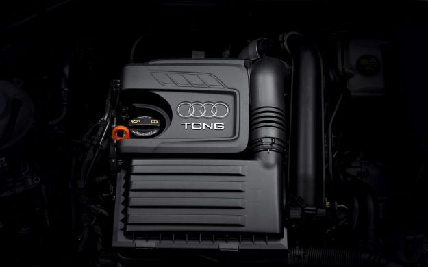 Audi A3 Sportback TCNG motore