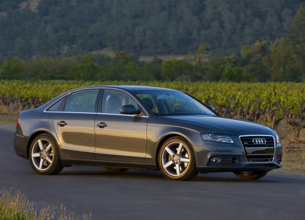 Audi A4 2009, frontale