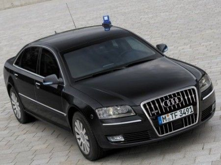 Audi A8 Security W12