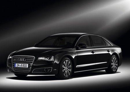 Audi A8L security ginevra