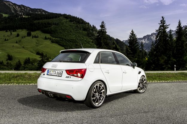 Audi AS1 Sportback ABT, posteriore