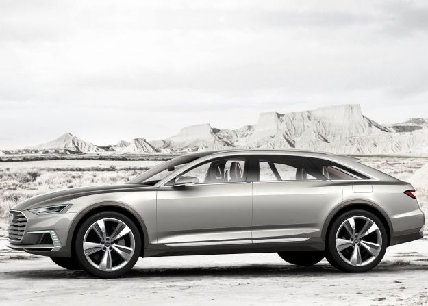 Audi Prologue Allroad Concept fiancata