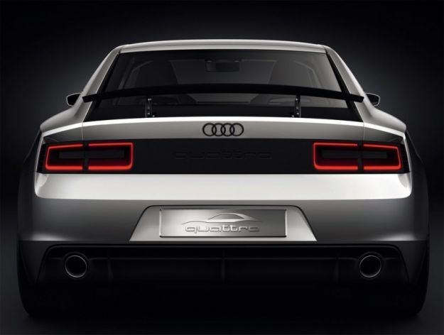 Audi Quattro Concept, coda
