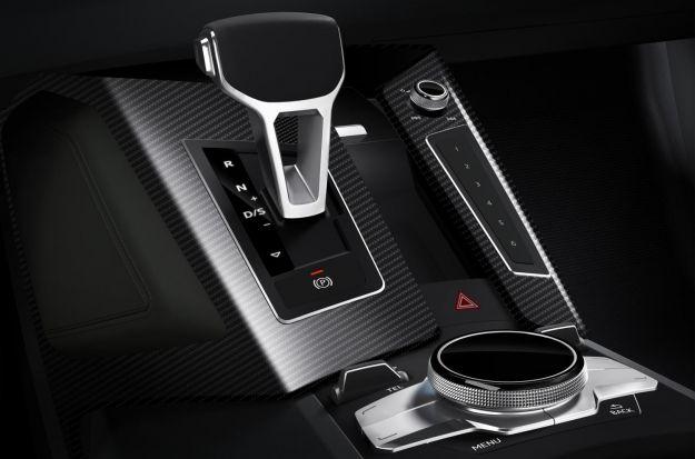 Audi Quattro concept 2014, cambio