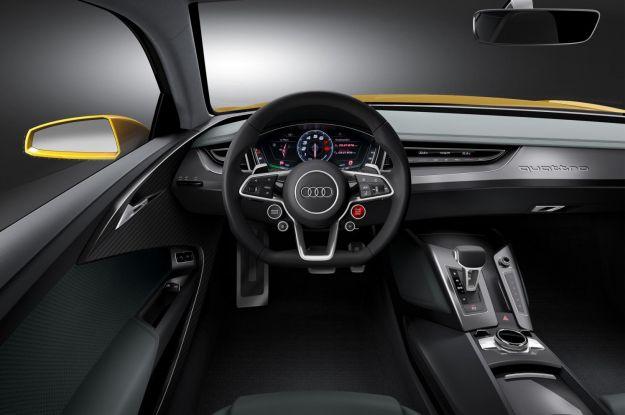 Audi Quattro concept 2014, interni