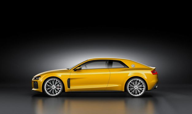 Audi Quattro concept 2014, scheda tecnica