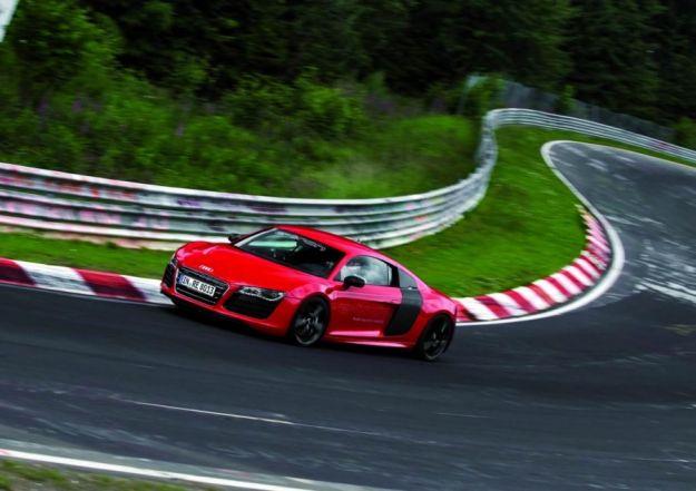 Audi R8 e tron, Nurburgring (6)