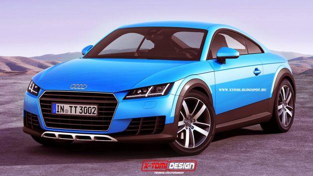 Audi TT Allroad 2015