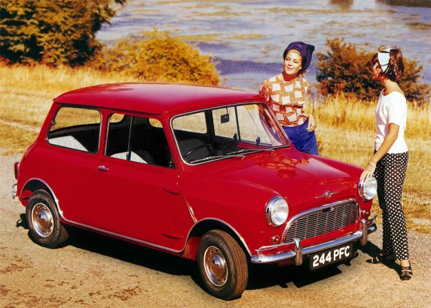Austin Mini anteriore
