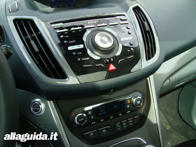 Autoradio e climatizzatore automatico Ford C Max7 1.0 EcoBoost