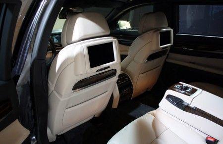 BMW 760i High Security interni