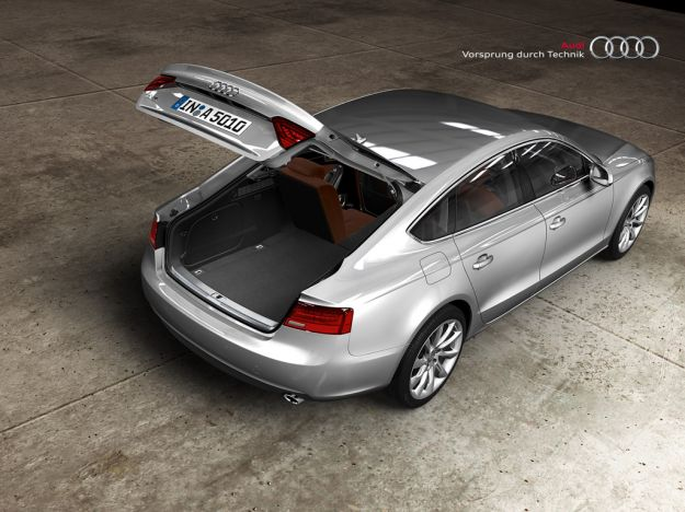 Bagagliaio Audi A5 Sportback