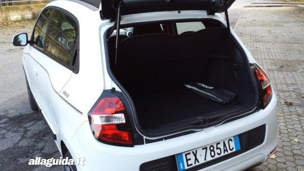Bagagliaio Nuova Renault Twingo