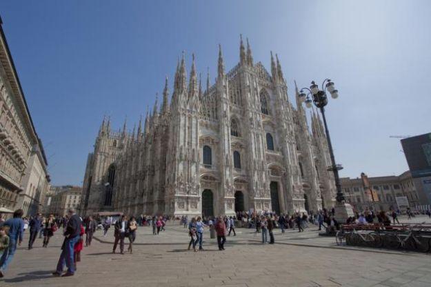Blocco del traffico Milano 17 marzo