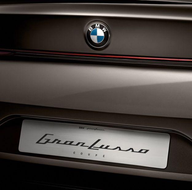 Bmw Pininfarina Gran Lusso Coupe, bagagliaio