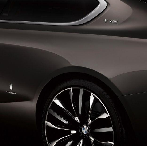 Bmw Pininfarina Gran Lusso Coupe, cerchi in lega
