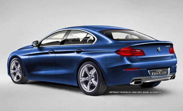 Bmw Serie 2 GC, posteriore rendering