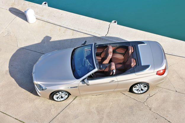 Bmw Serie 6 Cabrio consumi ed emissioni