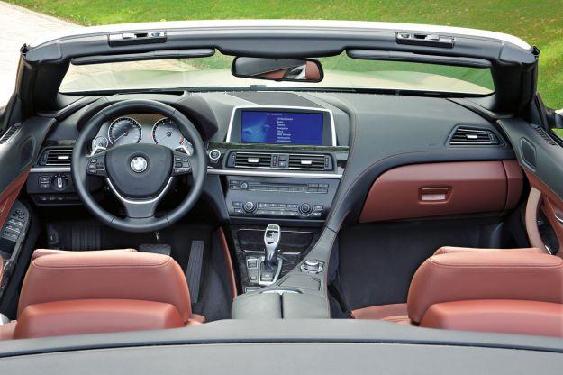 Bmw Serie 6 Cabrio interni