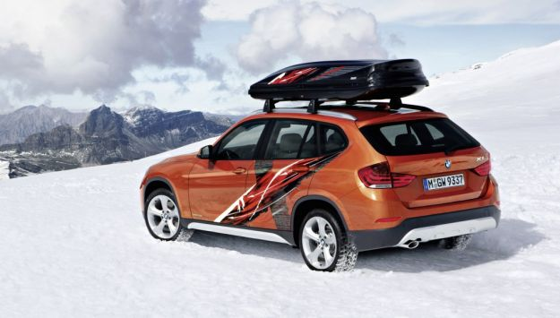 Bmw X1 Powder Ride Special Edition posteriore