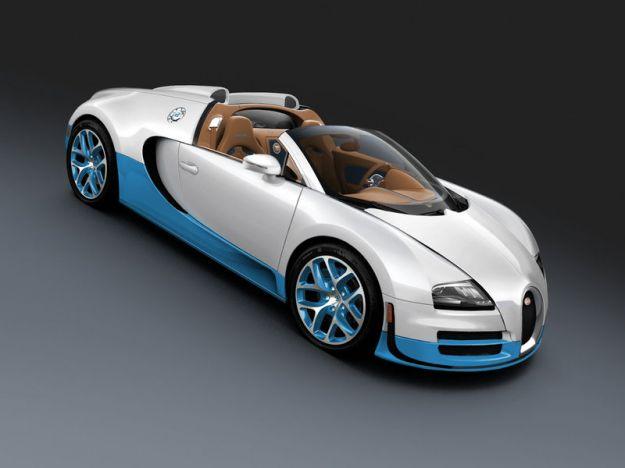 Bugatti Veyron Grand Sport Vitesse Special Edition laterale anteriore scoperta