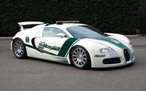 Bugatti Veyron Polizia Dubai