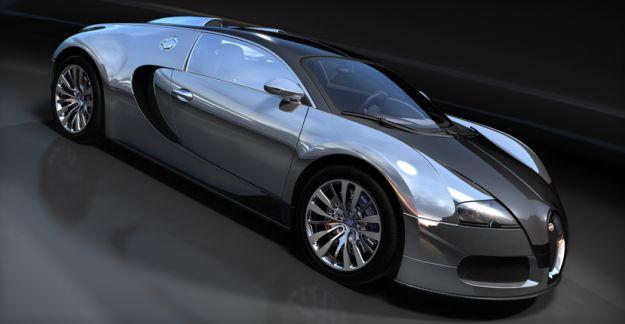 Bugatti Veyron Pur Sang 1