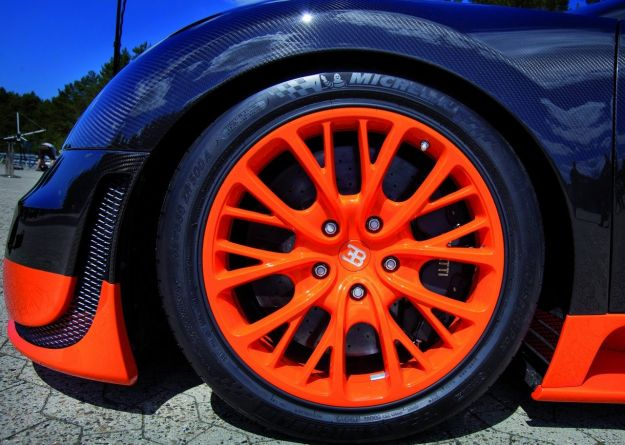 Bugatti Veyron Super Sport cerchi in lega