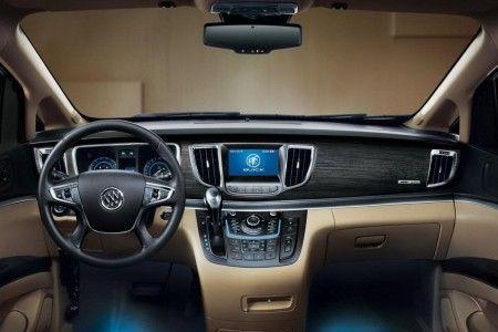 Buick GL8 monovolume plancia