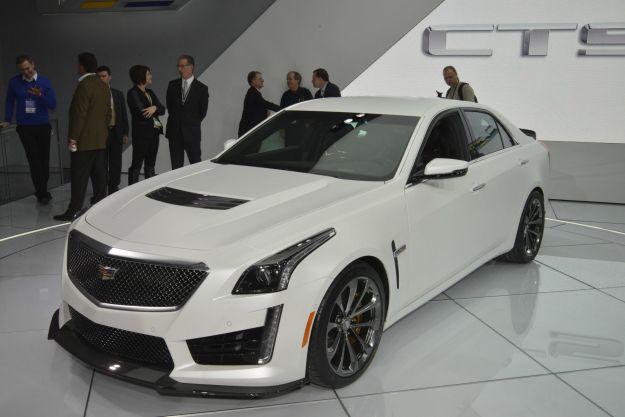 Cadillac CTS V, salone Detroit 2015 (3)