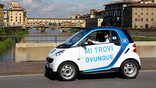 Car Sharing immagine Smart