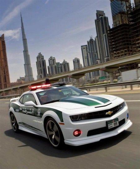 Chevrolet Camaro Polizia Dubai